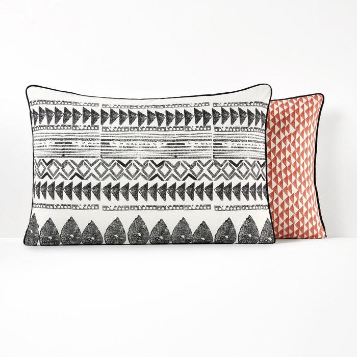 TIEBELE Printed Pure Cotton Pillowcase  La Redoute Interieurs image 0