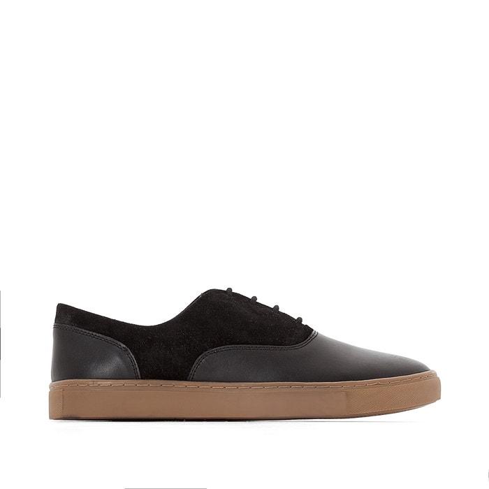 afbeelding Leren sneakers, brede voet CASTALUNA