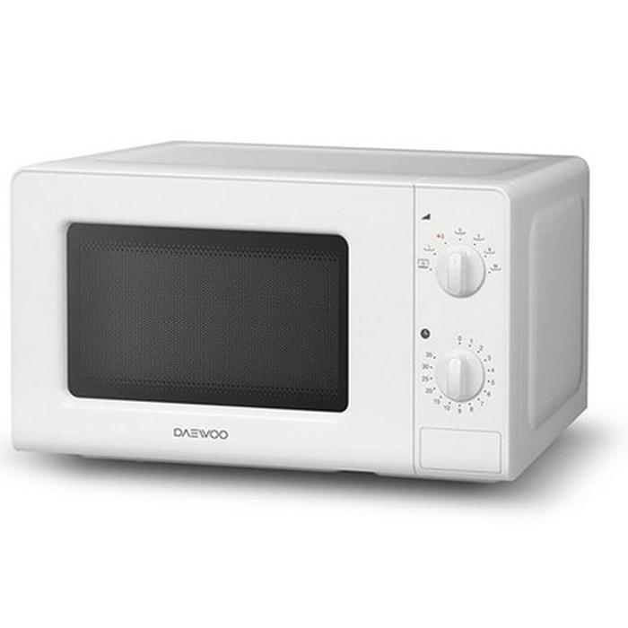 daewoo micro ondes 20l 700w blanc kor 6lm07 couleur unique daewoo la redoute. Black Bedroom Furniture Sets. Home Design Ideas
