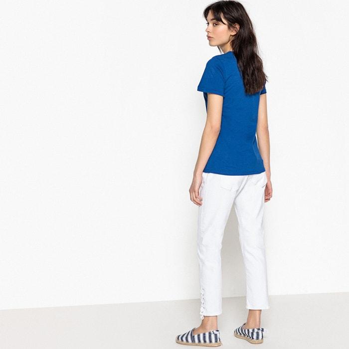 cuello 5 manga redondo corta con lisa KAPORAL Camiseta y qaxf1Px