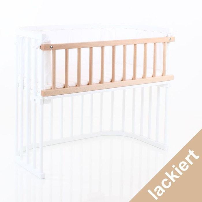 barri re de s curit bois clair lit berceau babybay maxi boxspring vernis naturel babybay la. Black Bedroom Furniture Sets. Home Design Ideas