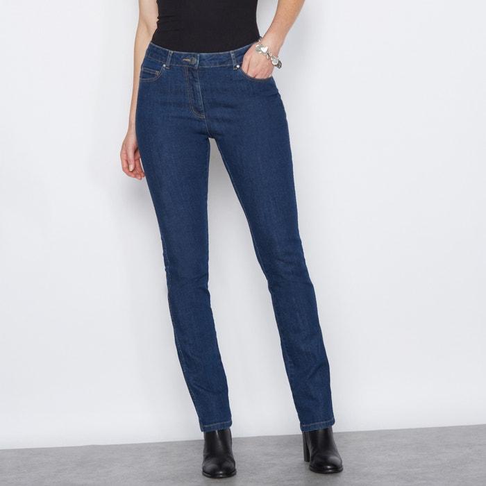 afbeelding Geborduurde jeans, stretch denim ANNE WEYBURN