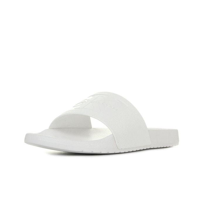 Sandales homme vincenzo white  blanc Calvin Klein  La Redoute