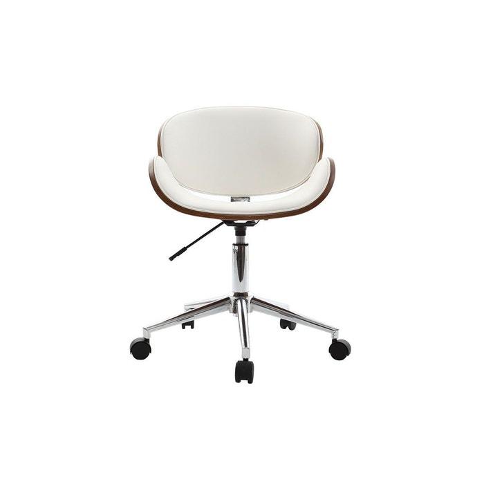 fauteuil de bureau petit prix walnut chaise de bureau blanc miliboo la redoute. Black Bedroom Furniture Sets. Home Design Ideas