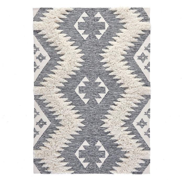 tapis style berb re kowalska ecru noir la redoute interieurs la redoute. Black Bedroom Furniture Sets. Home Design Ideas