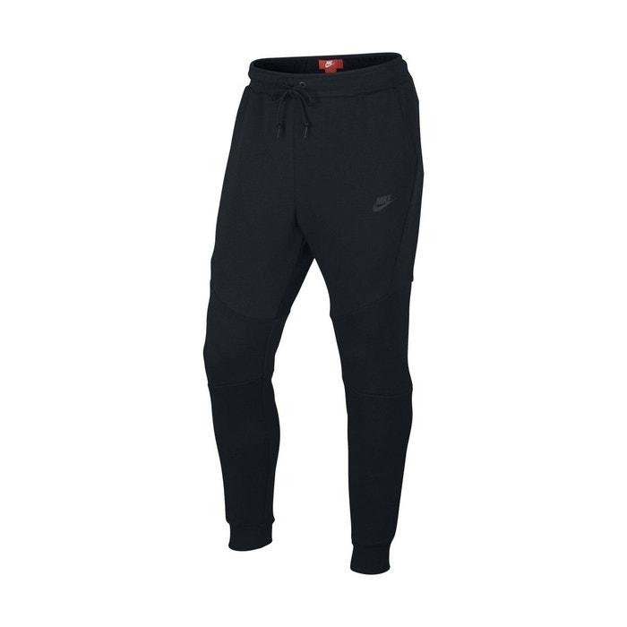 pantalon de surv tement tech fleece noir nike la redoute. Black Bedroom Furniture Sets. Home Design Ideas