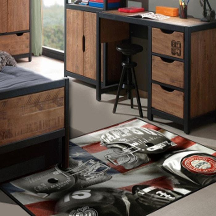 Tapis chambre adolescent SKULLS CAMPS