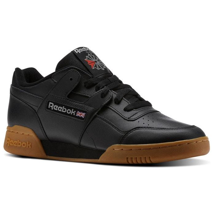 8b099e431eec1 Baskets homme workout plus noir Reebok Classics