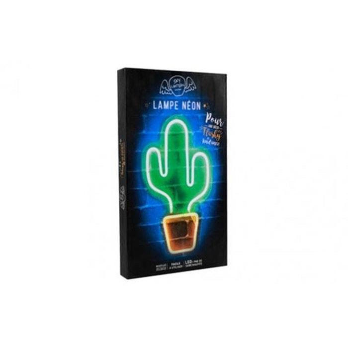 Lampe Neon Cactus Multicolore Skylantern La Redoute