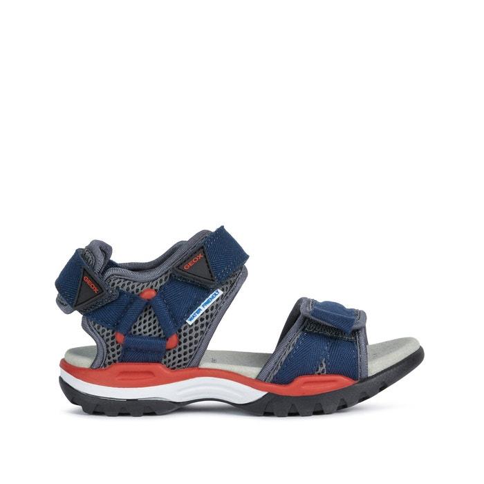 Facturable Doctrina Centro de producción  Kids borealis sandals , navy blue/red, Geox | La Redoute