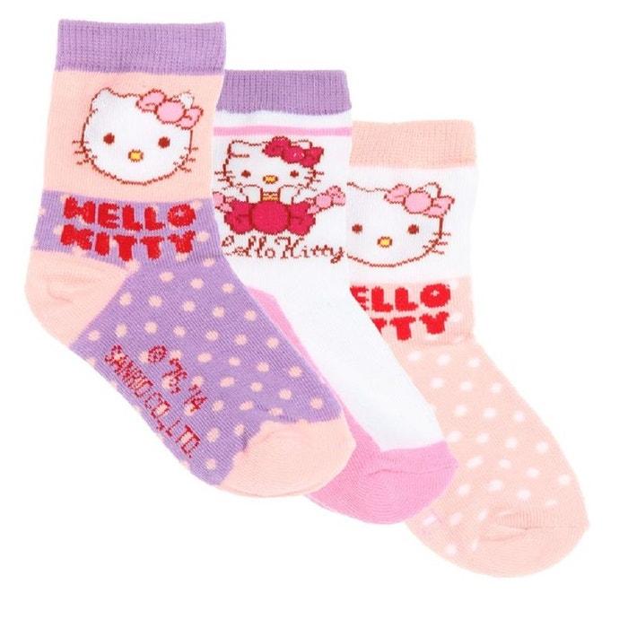 0bdd6a0a4f623 Hello kitty lot de 3 paires de chaussettes 31 34 Hello Kitty