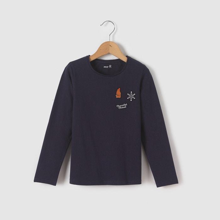 Imagen de Camiseta de manga larga con insignias de invierno 3-12 años abcd'R