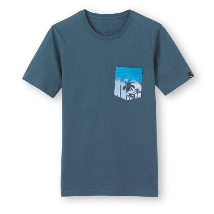 afbeelding Bedrukt T-shirt met ronde hals en zak 8 - 16 jr Quiksilver® QUIKSILVER