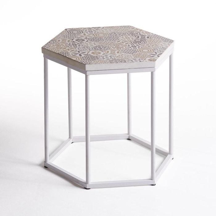 Table basse, guéridon, plateau céramique, Topim La Redoute Interieurs
