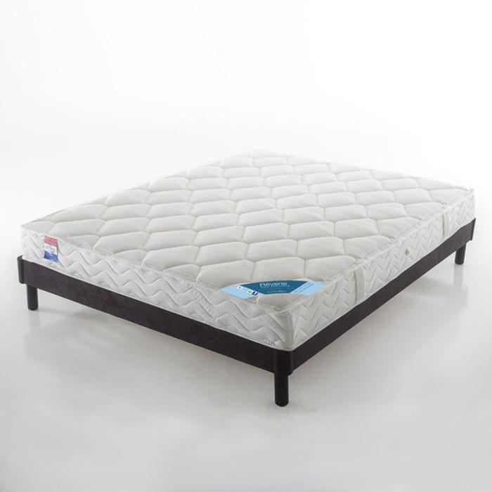 matelas latex grand confort tr s ferme 3 zones sp cial dos sensibles haut 19 cm cru reverie. Black Bedroom Furniture Sets. Home Design Ideas