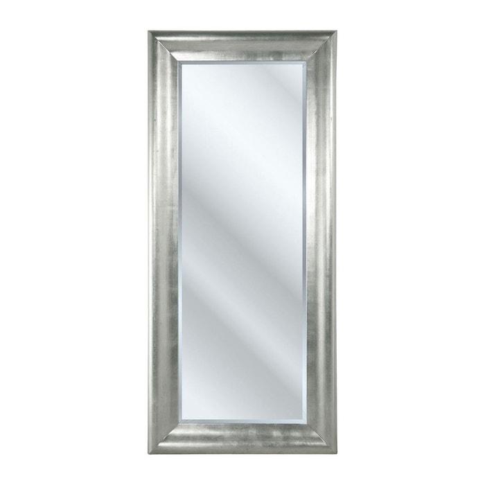 Miroir chic 200x90cm argent kare design couleur unique for Miroir baroque grande taille