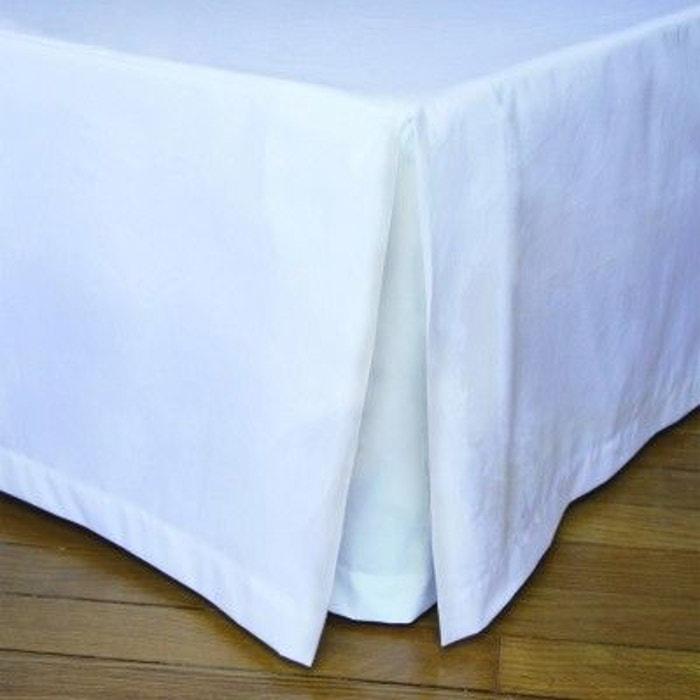 cache sommier blanc blanc liou la redoute. Black Bedroom Furniture Sets. Home Design Ideas