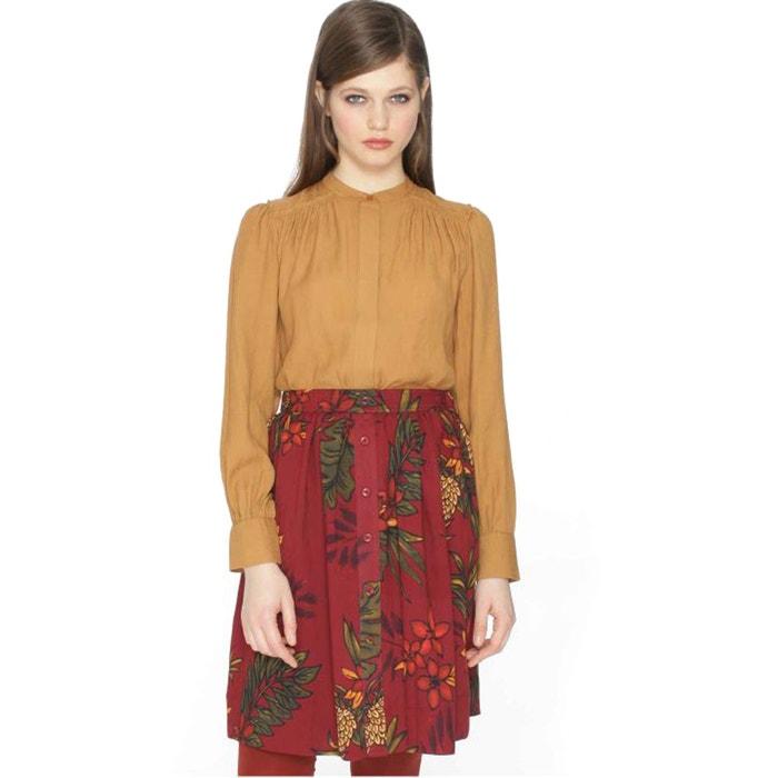 Pleated Floral Print Skirt  PEPALOVES image 0