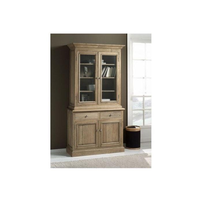 buffet 2 portes vaisselier victoria bois clair hellin depuis 1862 la redoute. Black Bedroom Furniture Sets. Home Design Ideas