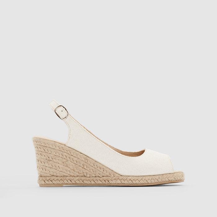 Image Sandals with Rope Wedge Heel R essentiel