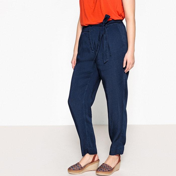 Wide Leg Denim Trousers  CASTALUNA image 0