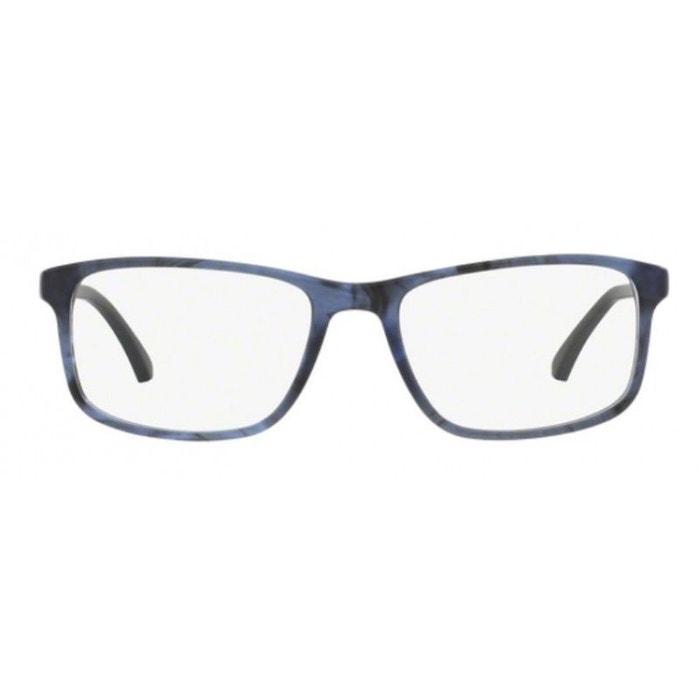 339ae251507 Lunettes de vue pour homme emporio armani bleu ea 3098 5549 53 18 ecaille  moyen Emporio Armani