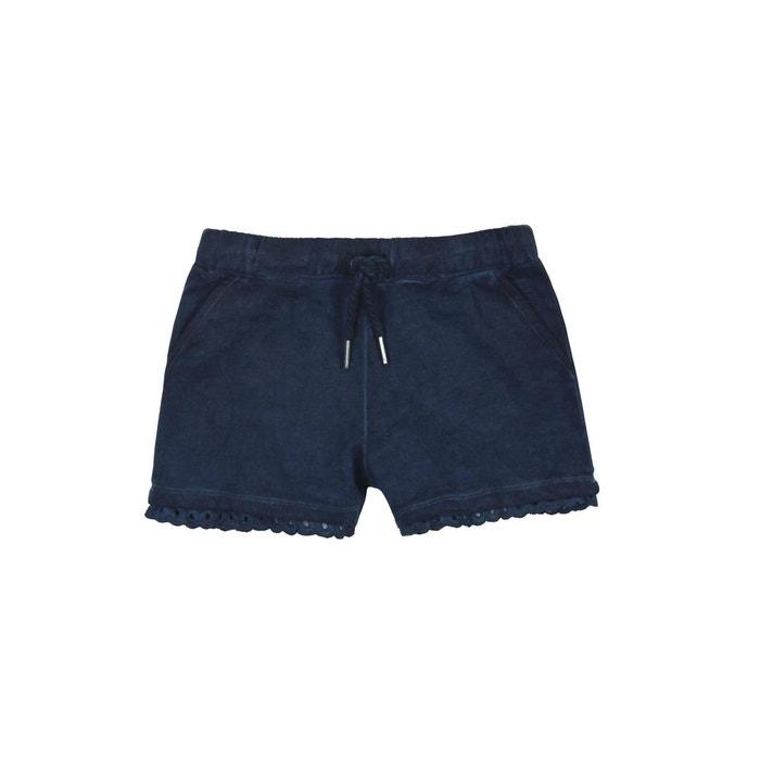 fdf4870600f69 Short en molleton élastique bleu Boboli | La Redoute