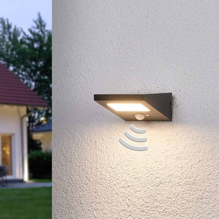 Lampe Solaire Extérieure En Aluminium Felin Gris Graphite Blanc Lampenwelt La Redoute