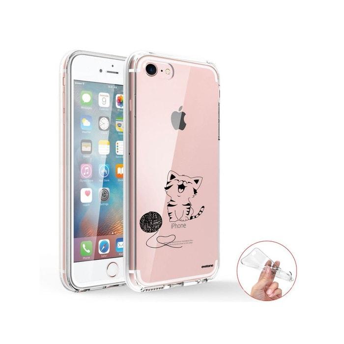 coque iphone 7 transparente chat