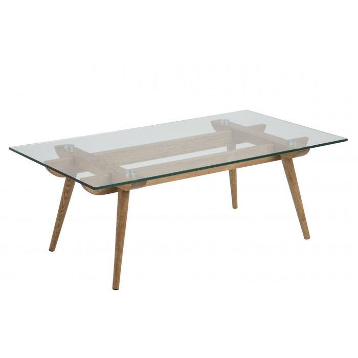 Table Basse Moderne En Bois Et Verre Paixa Bois Clair Hellin Depuis