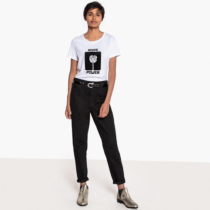 Collections flocada Redoute Camiseta La terciopelo de PRBq7H