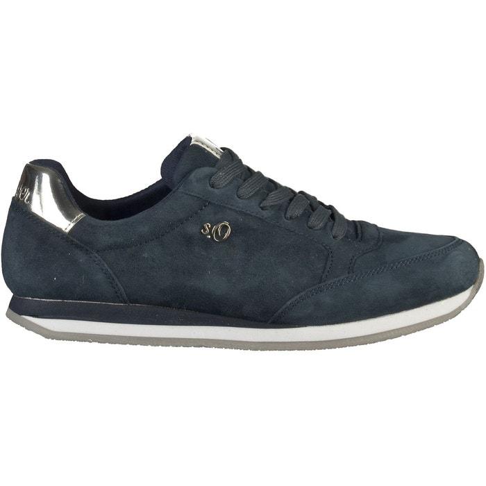 Sneaker navy S.Oliver Magasin De Jeu Pas Cher Vente Pas Cher Offres 7gbbBr