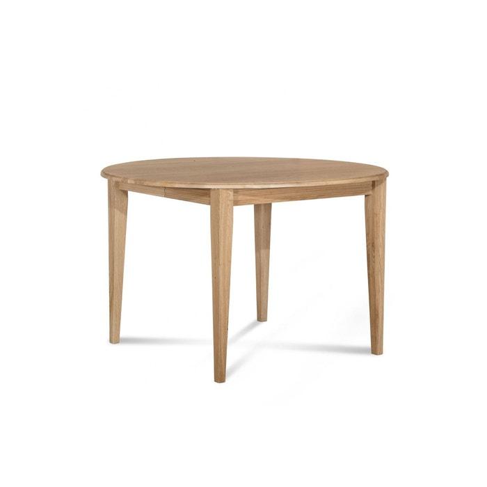 Beau Table Ronde Bois à Rallonges   115 Cm   Pieds Fuseau   VICTORIA HELLIN,  DEPUIS