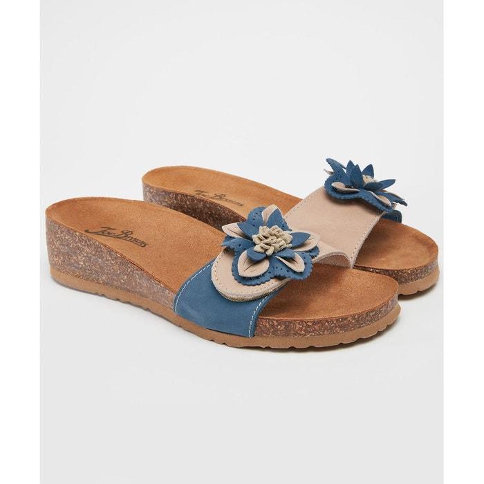 ... Sandales à talons compensés en cuir italien JOE BROWNS (2) ...