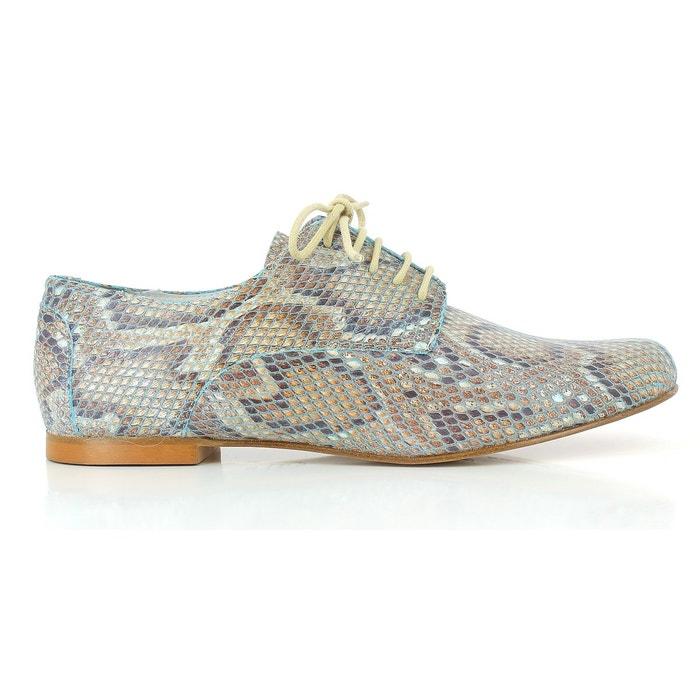 Chaussures a lacets issio 245  sable Elizabeth Stuart  La Redoute