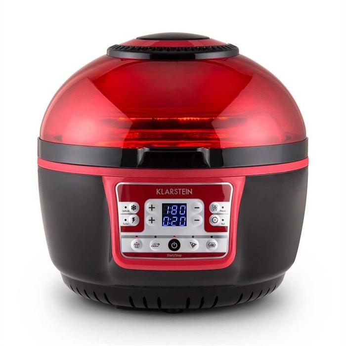 Vitair turbo friteuse air chaud 1400w grill cuisson 9l - Friteuse a air chaud ...