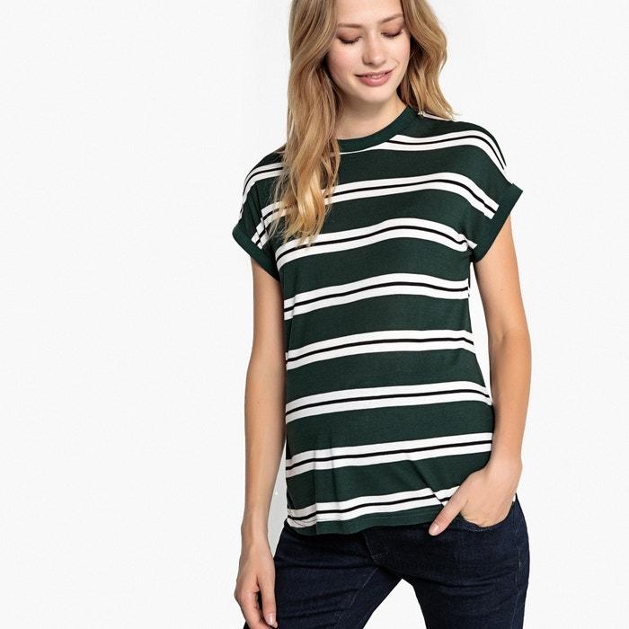 Striped Maternity T-Shirt  LA REDOUTE MATERNITE image 0