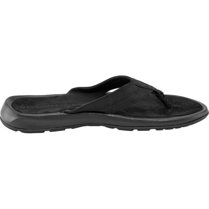 Manarola ii - sandales homme - noir noir Columbia
