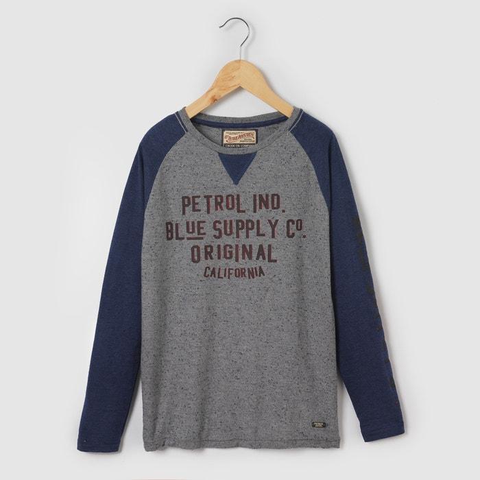 Image T-shirt z długim rękawem, dwukolorowy, 8 - 16 lat PETROL INDUSTRIES
