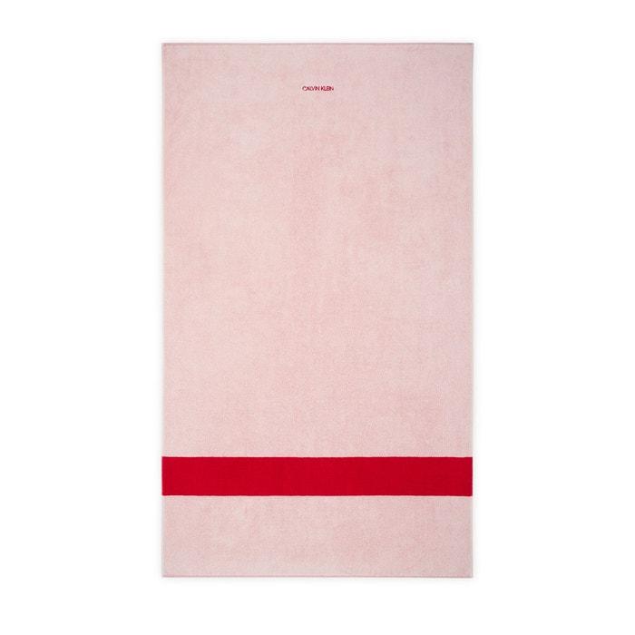 Drap De Plage Cruise Pink Pink Calvin Klein Home La Redoute