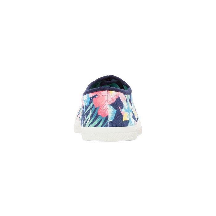 multicolore Bensimon Baskets imprimé floral hibiscus qwWgqOtpT