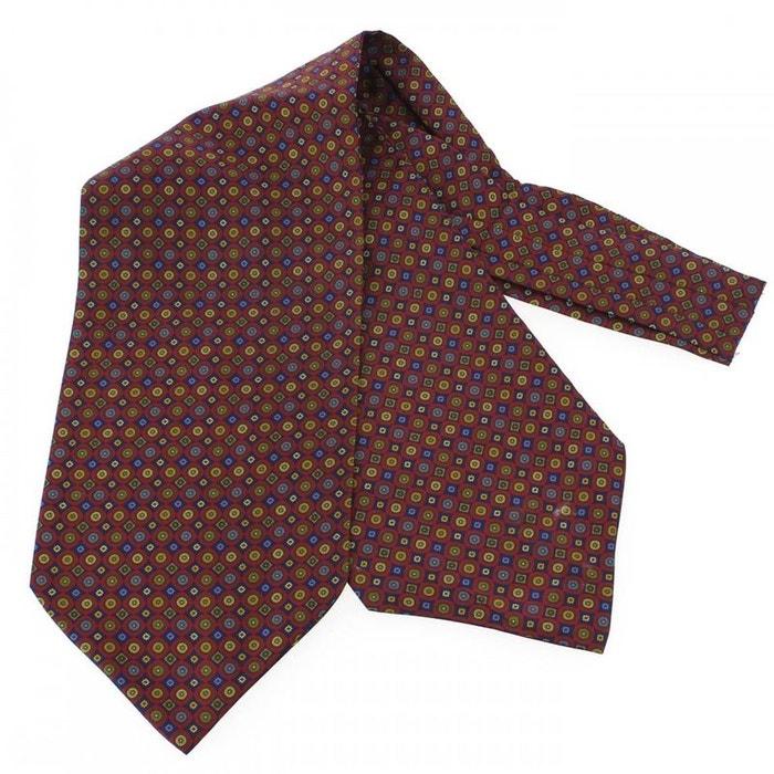Charles hubert, foulard ascot soie, victoria, cercles rouge rouge Tony Et Paul | La Redoute