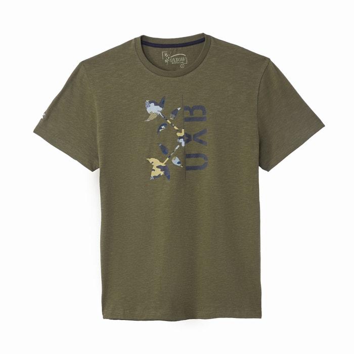 T-shirt scollo rotondo maniche corte  OXBOW image 0