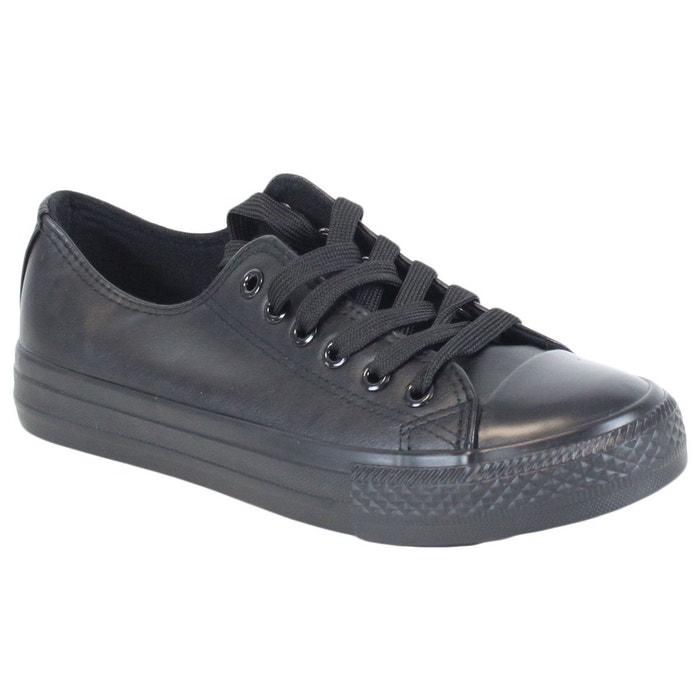 Baskets 80056-1 all black noir Kebello