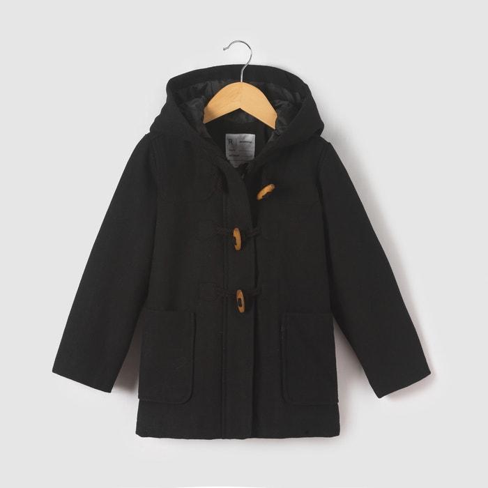 Image Duffle coat à capuche 3-12 ans La Redoute Collections