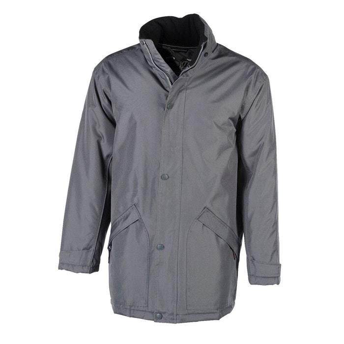 eaf867ffd4ae6 Parka doublure matelassée gris Fashion Cuir   La Redoute