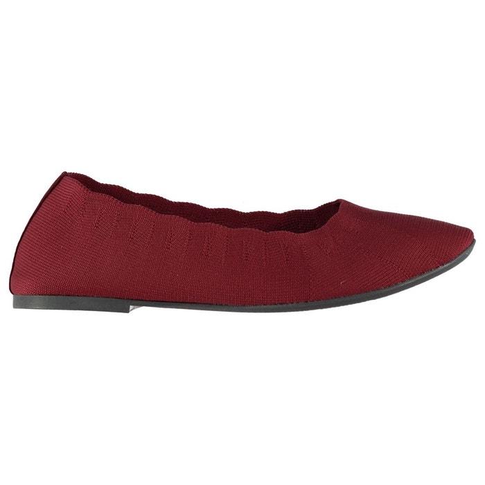 Chaussures décontractées tricot rouge Skechers