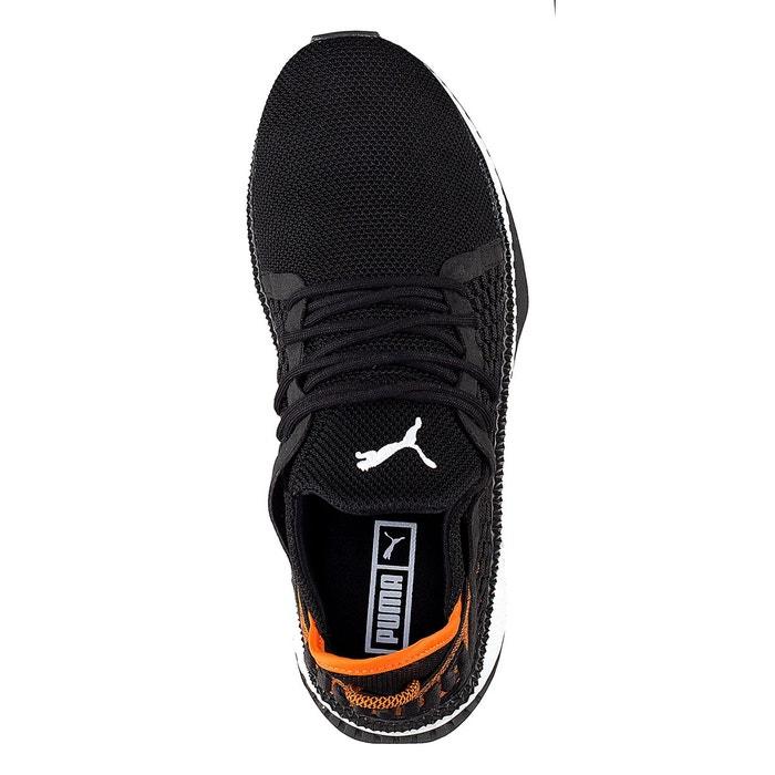 Baskets tsugi netfit noir orange Puma