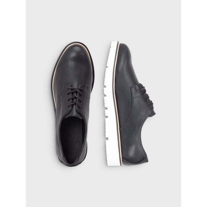 Chaussures à lacets black Bianco