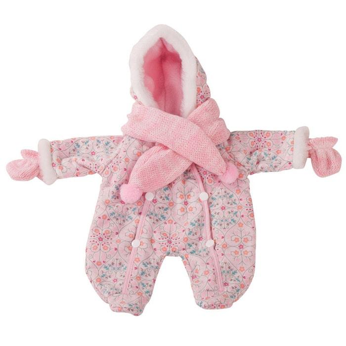 645a332f0b2fd Vêtements pour poupée de 30 à 33 cm   combinaison rose pour bébé Gotz